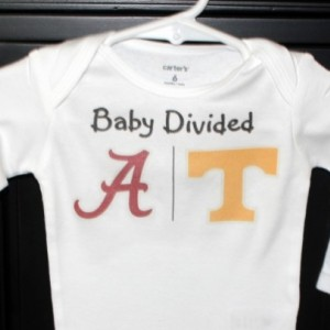 Baby Divided baby bodysuit or toddler shirt