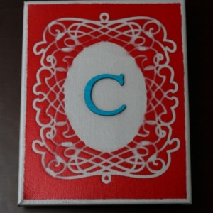 Cute Customizable Canvas With stencil
