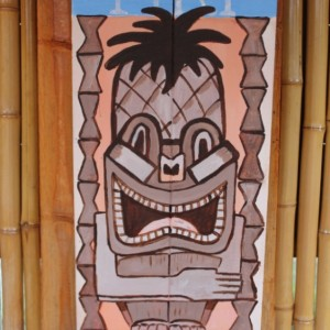 Tiki Time Outdoor Sign