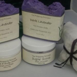 Dark Lavender Gift Basket