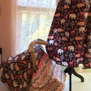 Infant Car Seat Cover Michael Miller Designer Fabric