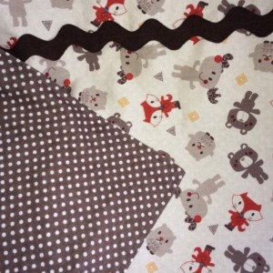 Infant Car Seat Cover - Fox, Bears, Moose & Friends