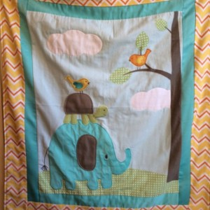 Baby Blanket, Elephant, Turtle, Bird, Monkey and Lions