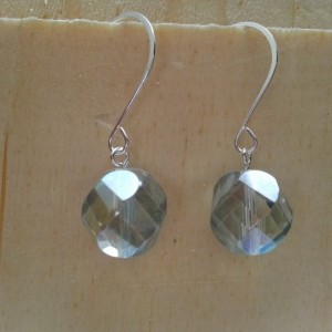 Aqua Swirl Earring