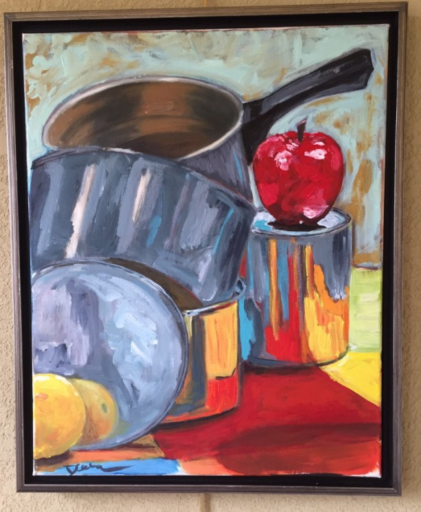 Still Life with Pots and Pans