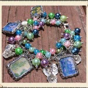 Monet's Waterlilies Bracelet