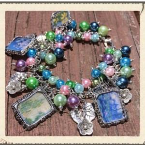 Monet's Waterlilies Bracelet