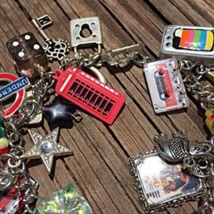 Kitschy Cha Cha Style Charm Bracelet