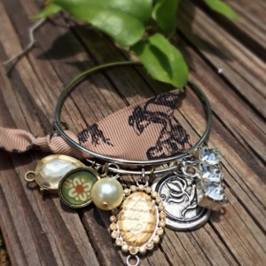 Alex and Ani Inspired Bracelet