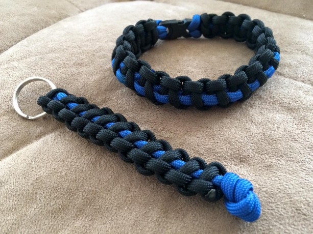 Blue Line Bracelet