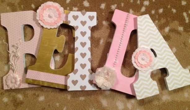 Custom Wooden Letter