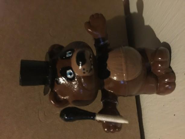 Five Night's at Freddy's custom painted Freddy Fazbear figure