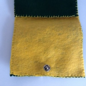 Green Mini Bag with ?Yellow Star