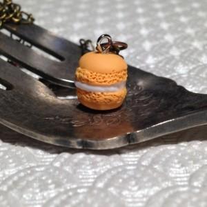 Miniature Goldenrod Macaron Necklace