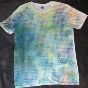 Anu Geometry Medley Tshirt  (LARGE)