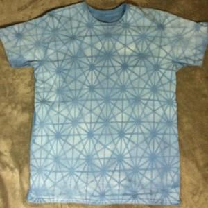 Blue Tetra Grid  (Medium)