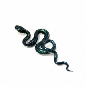 Sparkling Green Glass Snake