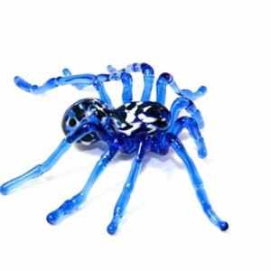 Blue Glass Tarantula Spider
