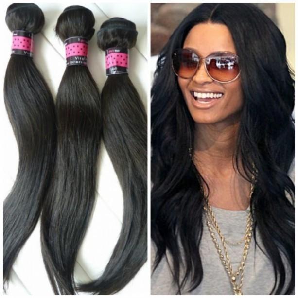 6A Virgin BRAZILIAN BODY WAVE HAIR, 4 BUNDLES 400 G = Full Head