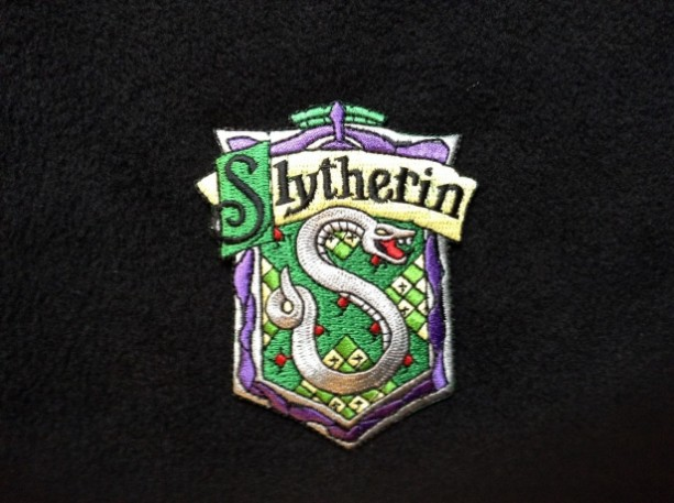 Slytherin  Iron on embroidered patch patches Harry potter hogwarts gryffindor hufflepuff ravenclaw halloween