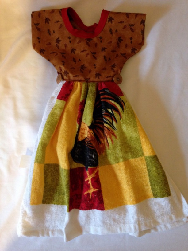 Rooster Kitchen Hand Towel
