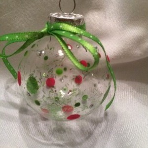 Ball ornament (2-pack)