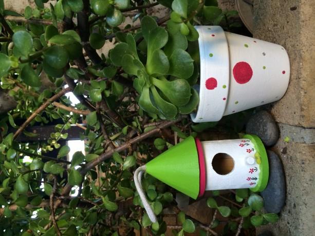 Christmas pot