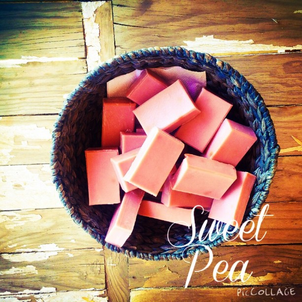 Sweet Pea Soap 2 for $12