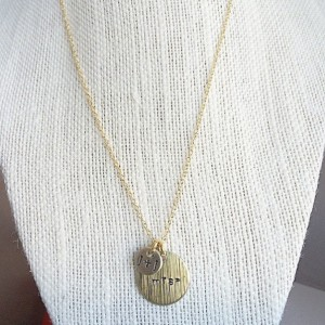 Mrs. Necklace with Initials