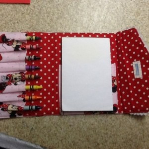 Custom Crayon Wallet Quiet Books