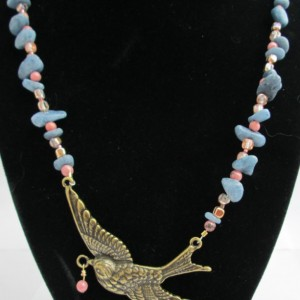 Evening Bird Necklace