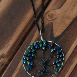Dark Tree Of Life Necklace