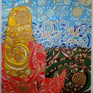 Concordia - Oil Painting