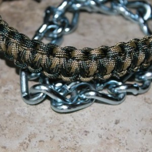 Paracord show collar for goats