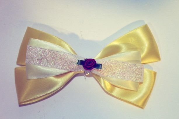Beauty and the Beast Inspired Bow