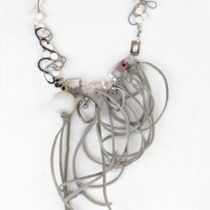 """Extravagant Necklace """" Verquickung der Sinne"""""""
