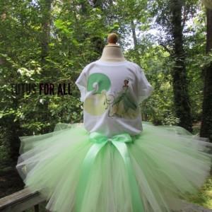 Princess and the frog tutu set
