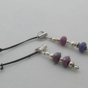 Phone & Tablet Dust Plugs - Pink & Purple