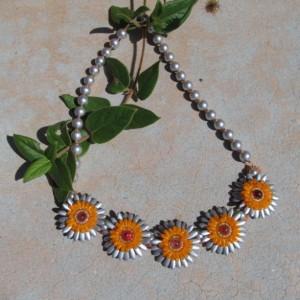 Crazy Silver Daisy Chain