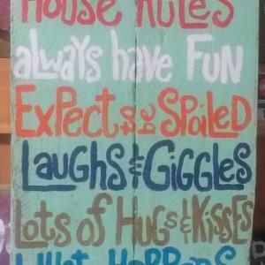 Grandmas House Rules