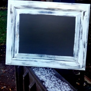 Shabby Chic Chalkboard