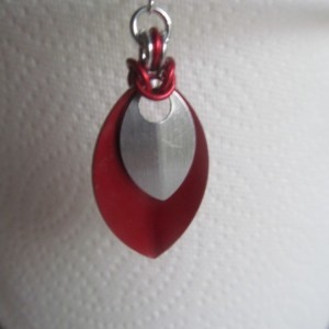 Lightweight Aluminum Scale Earrings