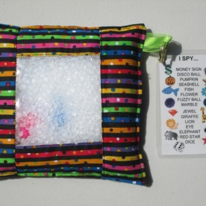 Sensory I Spy Bag - Stripes