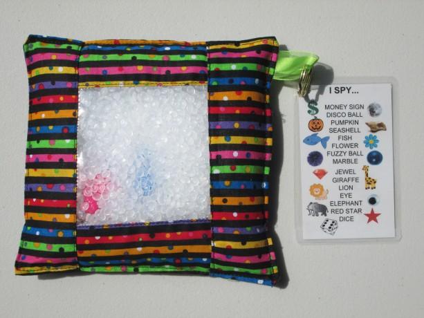 Sensory I Spy Bag - Stripes