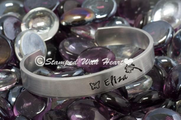 "Say It On Your Wrist Cuff Bracelet - 5"""