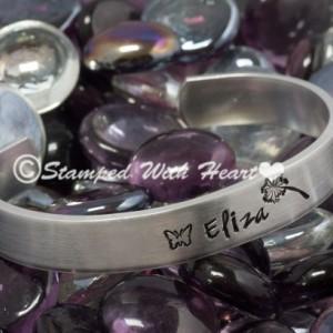 "Say It On Your Wrist Cuff Bracelet - 7"""