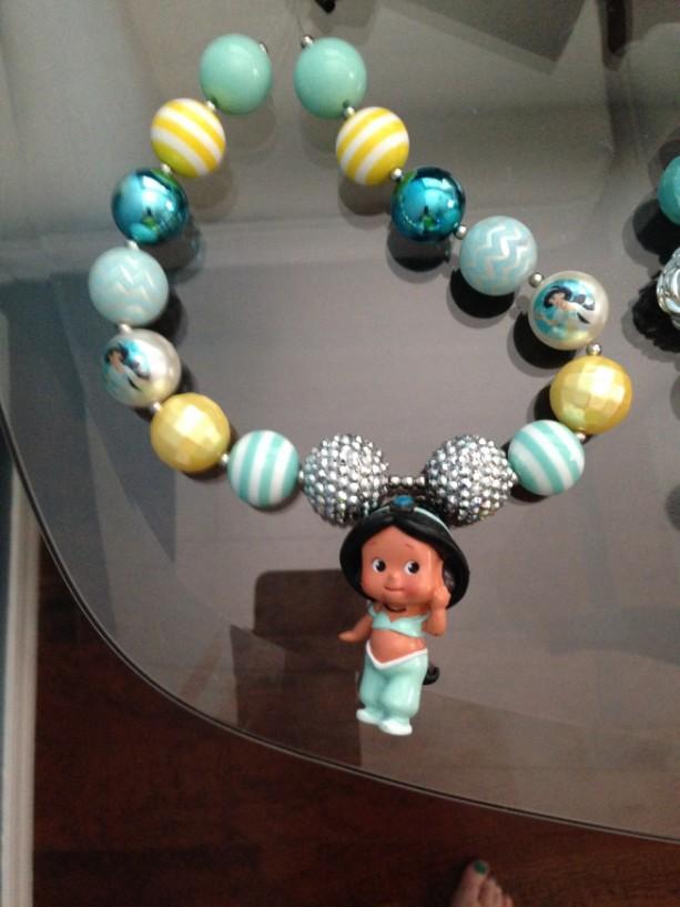 Princess Jasmine chunky necklace