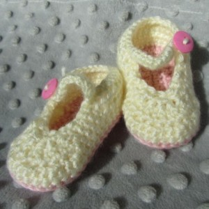 Pale Pink Mary Jane Shoes