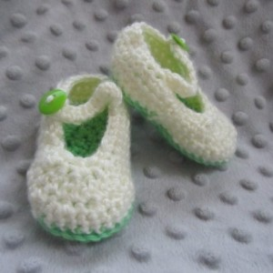 Green Mary Jane Shoes