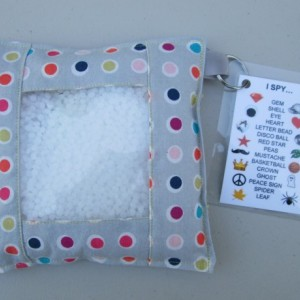 Sensory I Spy Bag - Polka Dot